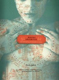 Livro \'Mapas Abiertos, de Alejandro Castellote (Madri, Espanha).